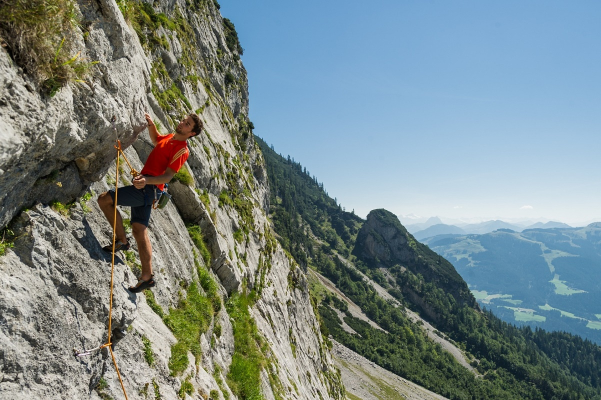 Klettersteig Wilder Kaiser : Klettern klettersteige am wilden kaiser